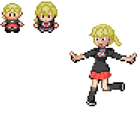 Pokémon images XY Lass Demake wallpaper and background