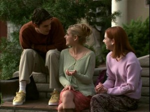 Xander Buffy and Willow