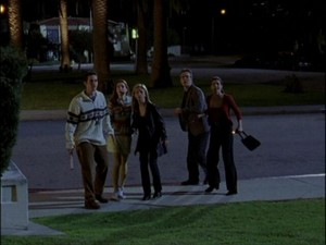 Xander Cordelia Buffy Giles and Willow