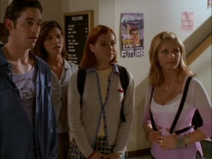 Xander Cordelia Willow and Buffy