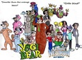 Yogi Bear and Jimmy Neutron Group Pic 2 - hanna-barbera fan art