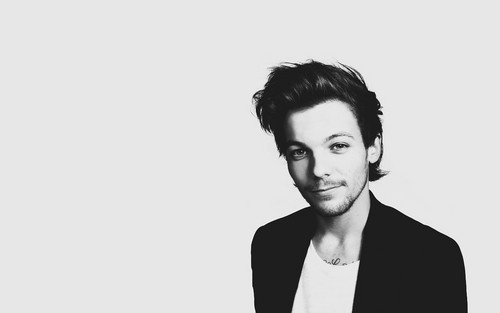 One Direction kertas dinding with a well dressed person and a business suit called anda And I Fragrance Promo Pics - Louis Tomlinson