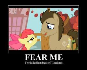 آپ will fear me if آپ don't buy some apples