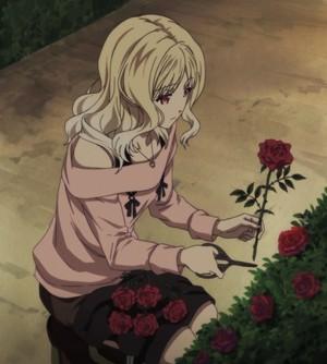 Yui in the garden