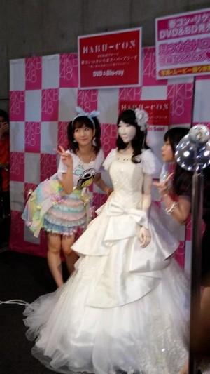 Yukirin with her robot