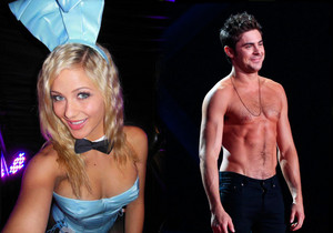 Zac Efron and Audrey Aleen Allen