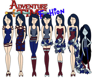 adventure time fashion _marceline
