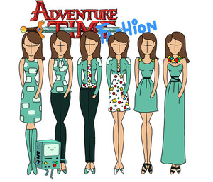 adventure time fashion_bmo