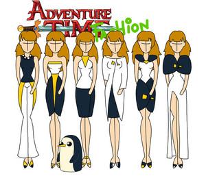 adventure time fashion_gunter