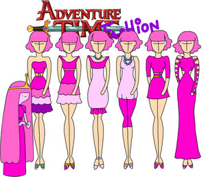 adventure time fashion_princess bubblegum