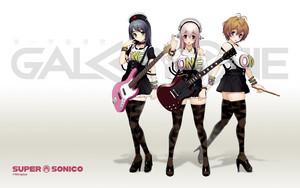 Anime gitarre girl