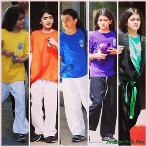 blanket in karate <3