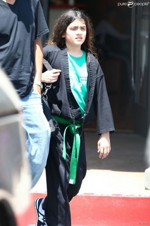 blanket's a green sinturon in karate! {new pic}