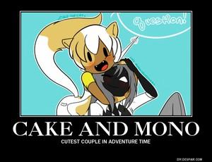 cake and mono