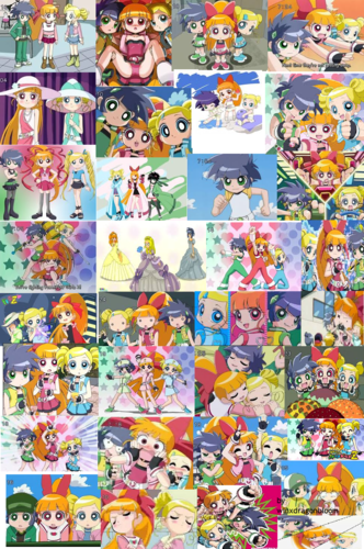 powerpuff girls Z দেওয়ালপত্র titled cute powerpuff girls z