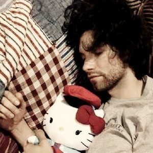 dANNY SLEEPIN :D