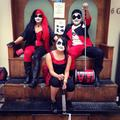 harley squad cosplay - harley-quinn photo