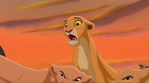 The Lion King 2:Simba's Pride wallpaper called kira has sister !