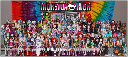 Monster High پیپر وال entitled monster high ghouls and boys