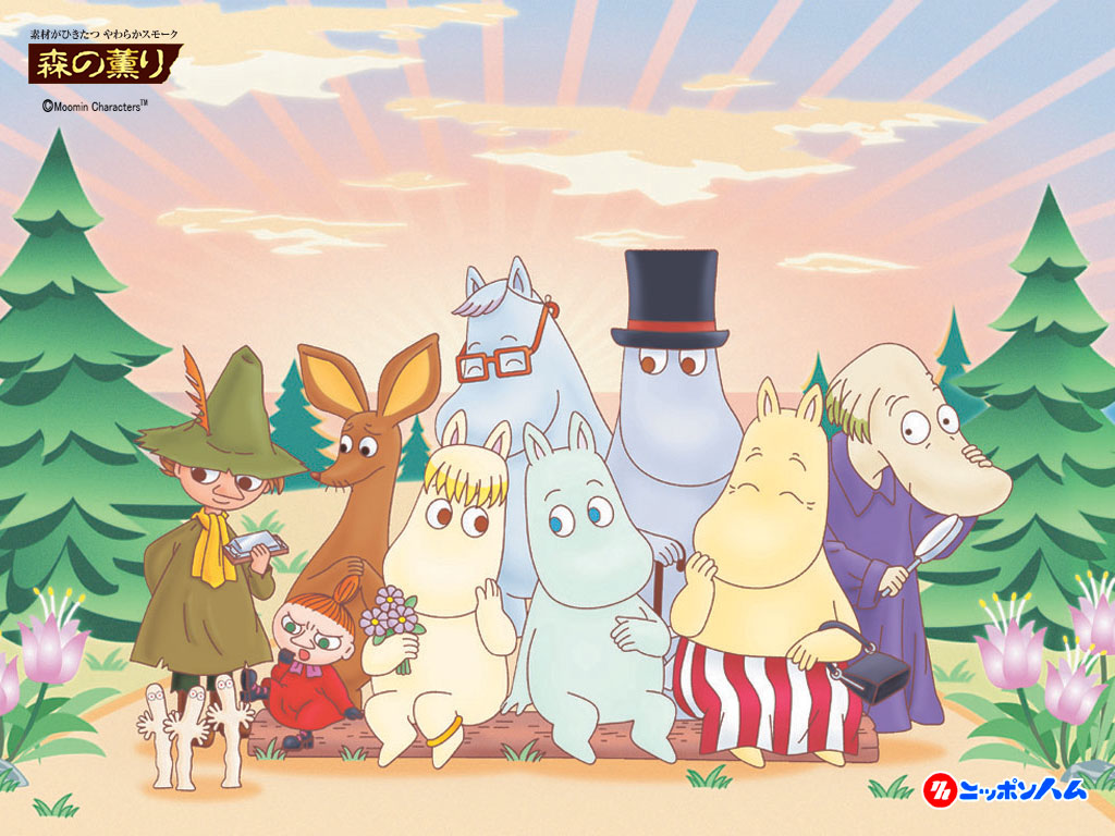 moomin family and Friends