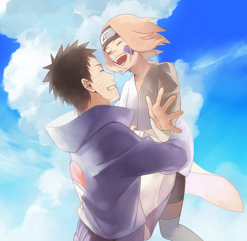 Naruto Couples ♥ fond d'écran called Obito Uchiha and Rin