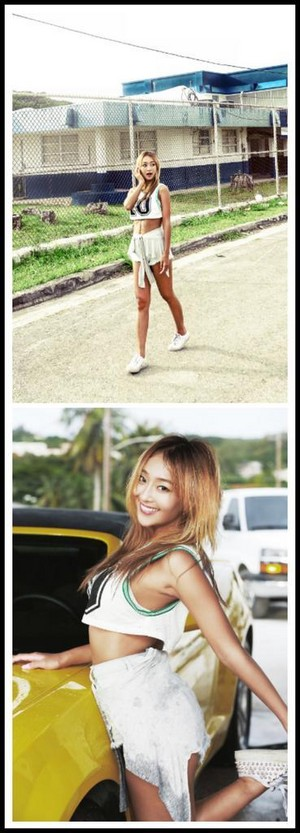 SISTAR Hyolyn's teaser image for ''I Swear''