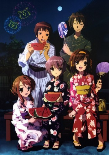 Yuki Nagato wallpaper titled party time