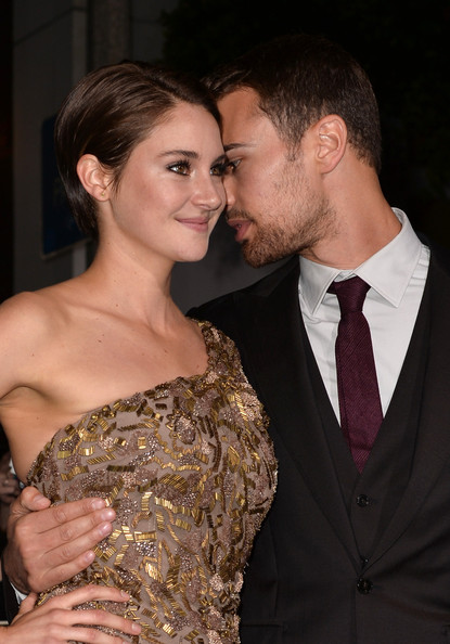 Woodley shailene james theo together and Theo James