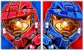 reds and blues - red-vs-blue fan art