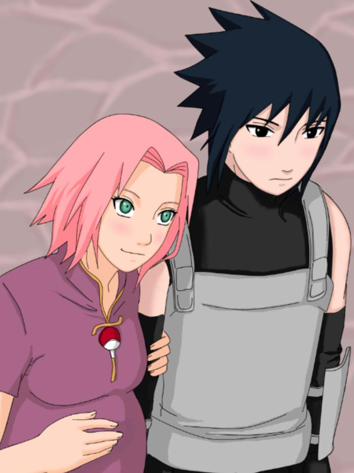 sakura and his child - Sasuke and Sakura Photo (37448717