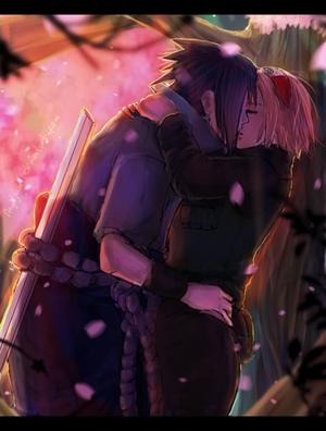 sakura and saskue