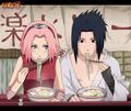 saskue and sakura - sasuke-and-sakura photo