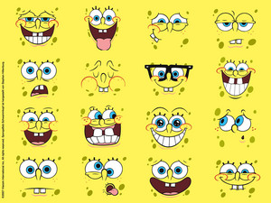 spongebob emoticons