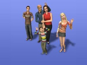 the Thomas-Brewer family in the sims 2