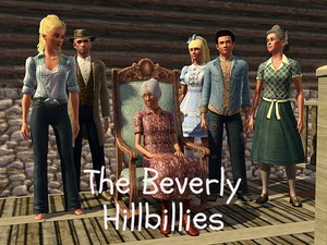 the beverly hillbillies {sims 3}