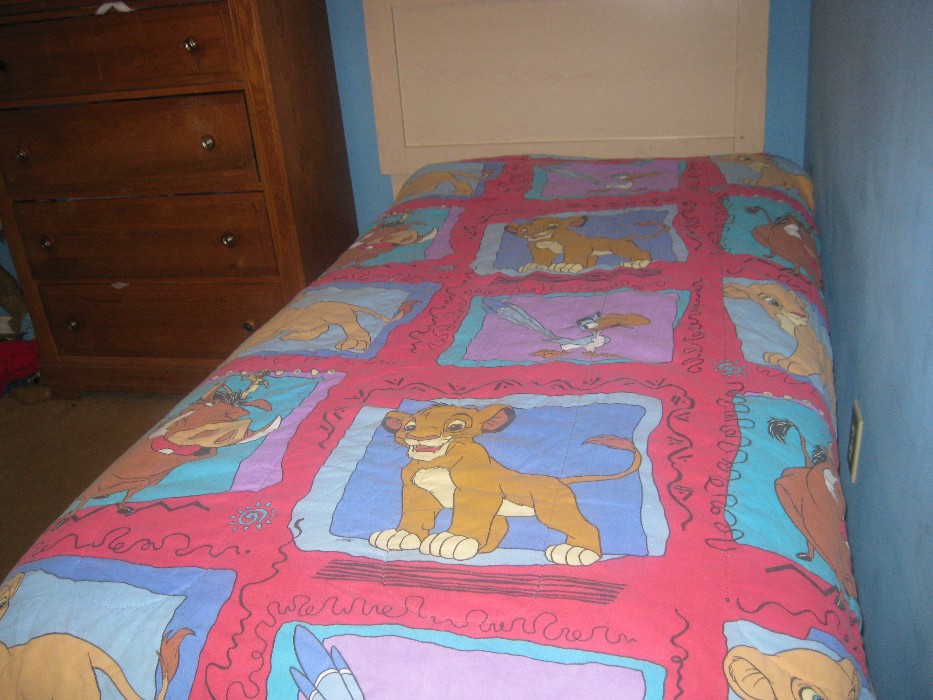 the first lion king movie blanket simba and nala - el rey ...