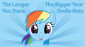 the longer you stare - rainbow-dash photo