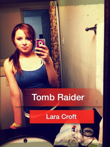 Tomb Raider wallpaper possibly with a sign entitled tomb raider reborn cosplay