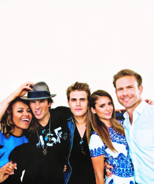 tvd cast @ teen choice awards 2014