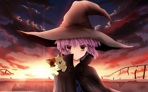Yuki Nagato wallpaper titled witchy yuki