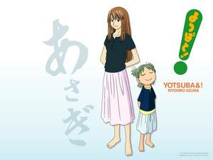 yotsuba with asagi
