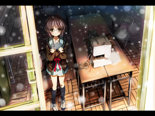 Yuki Nagato wallpaper called yuki wandering