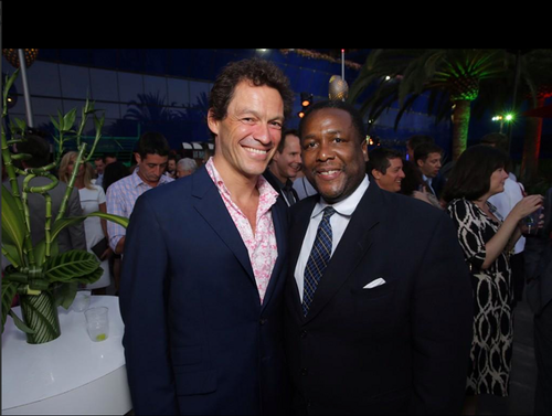 The Affair (2014 TV Series) wolpeyper possibly containing a business suit called CBS TCA party