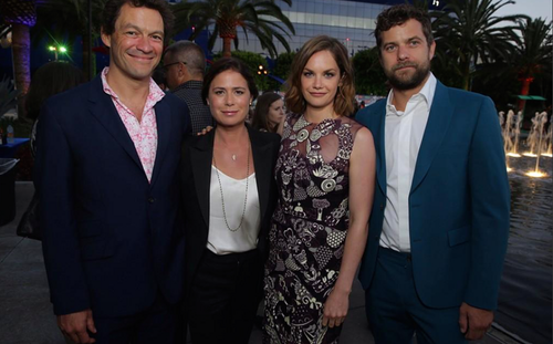 The Affair (2014 TV Series) wolpeyper containing a business suit called CBS TCA party