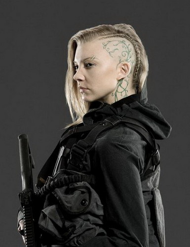 The Hunger Games wallpaper with a rifleman and a green beret entitled                     Cressida