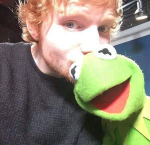 Ed and Kermit the Frog