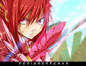 *Erza : I Will Stop Face*