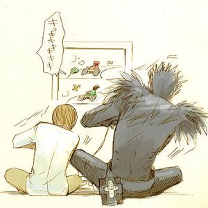 Ryuk and Kira