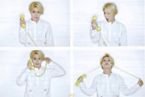"SCAN] SHINee's 3rd Japanese album ""I'm your boy"" Photobook"