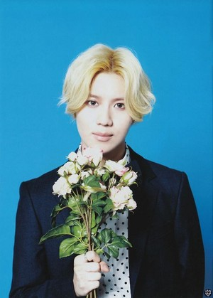"[SCAN] SHINee's 3rd Japanese album ""I'm your boy"" Photobook - Taemin"